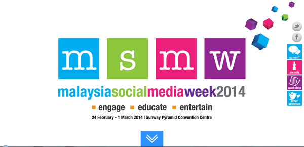 Malaysia Social Media Week 2014 (MSMW 2014)
