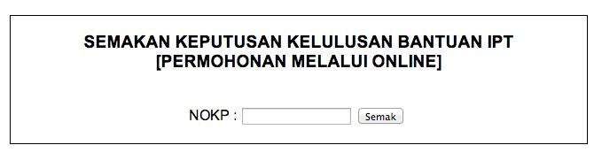 Semakan Permohonan Maik Wang Ehsan Kelantan Kelantan Faizal Fredley