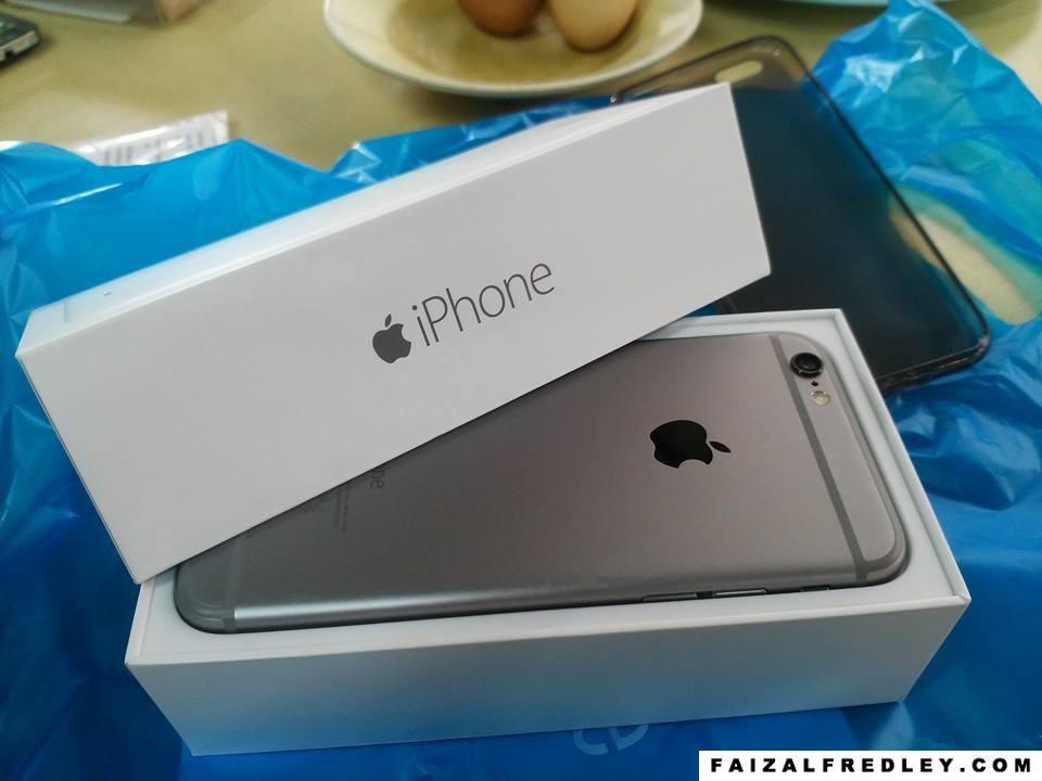 Harga iPhone 6 dan iPhone 6 Plus Malaysia