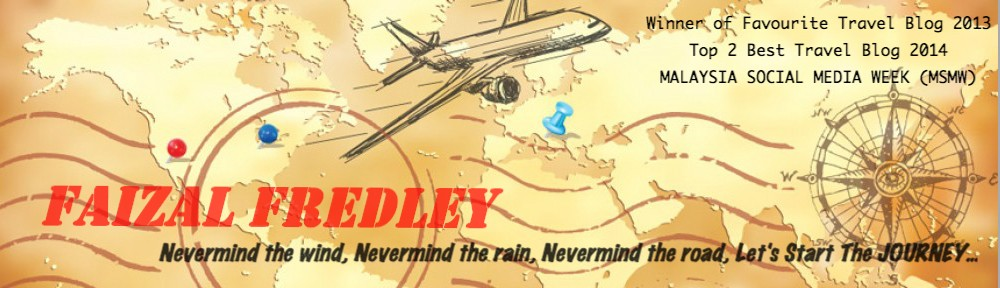 Travel Blog | Faizal Fredley