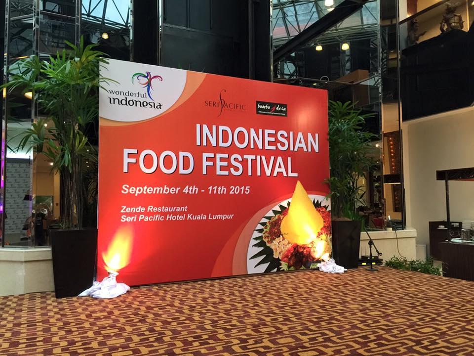 Indonesian Food Festival di Seri Pacific Hotel KL