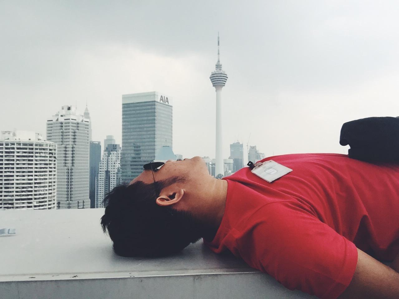 This is Kuala Lumpur di Pandangan Zahir Aku Sekarang