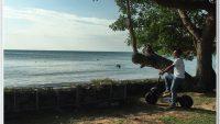 Menunggang MAD Scooter Velocifero di Port Dickson N. Sembilan