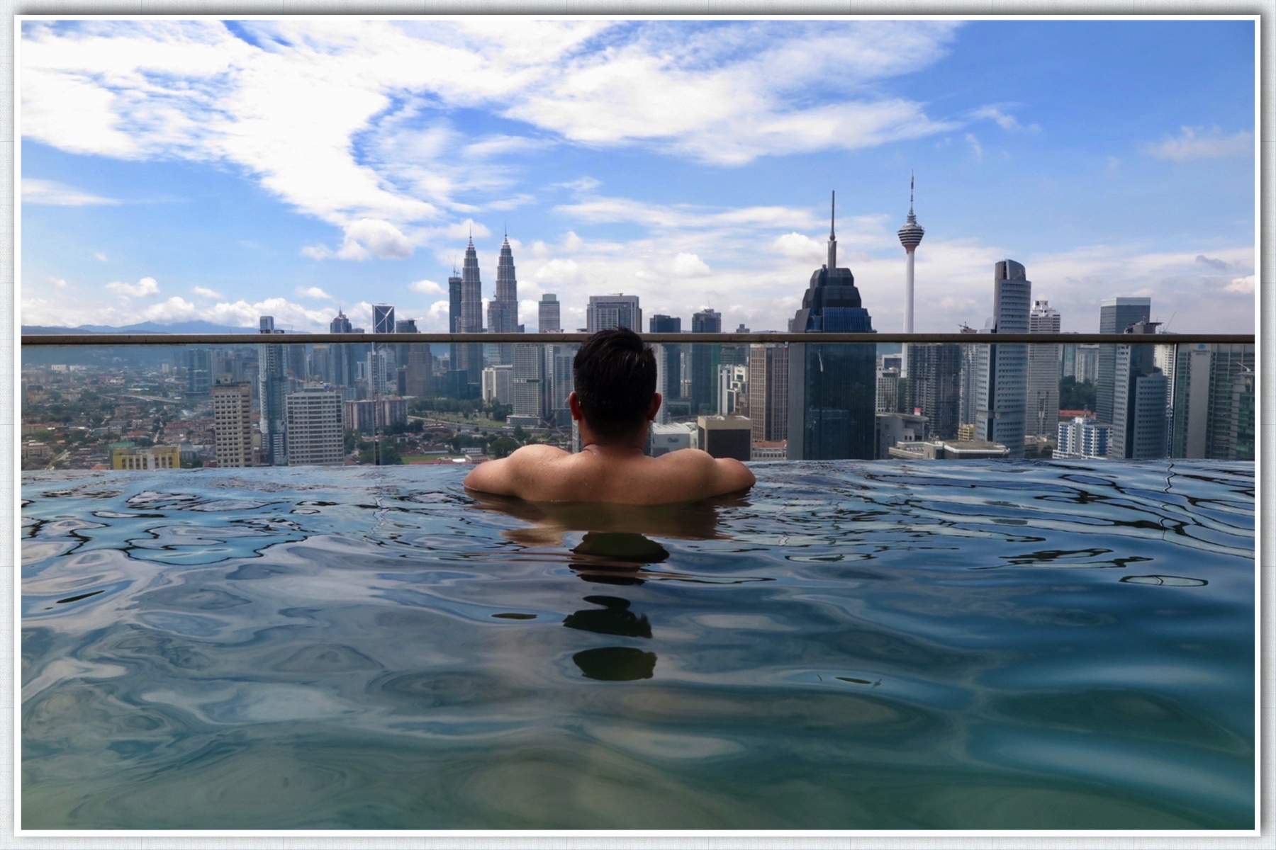 Regalia Suite Residence Homestay Kl Amazing Pool In Malaysia Faizal Fredley